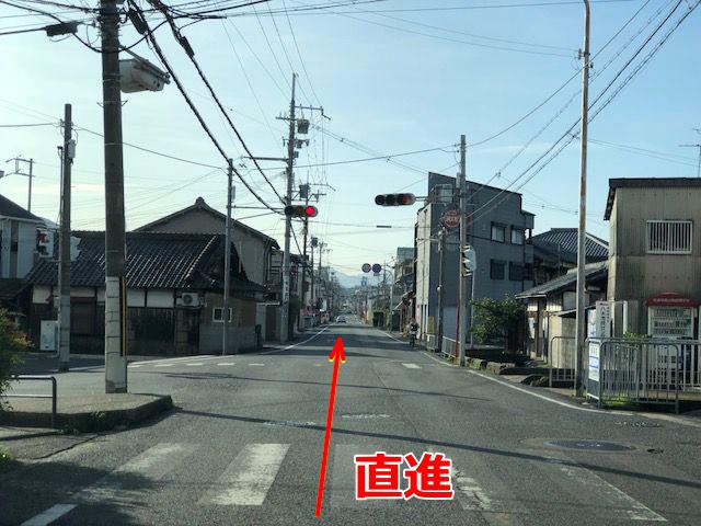 JR阪和線・久米田駅からの道順(徒歩・タクシー)6