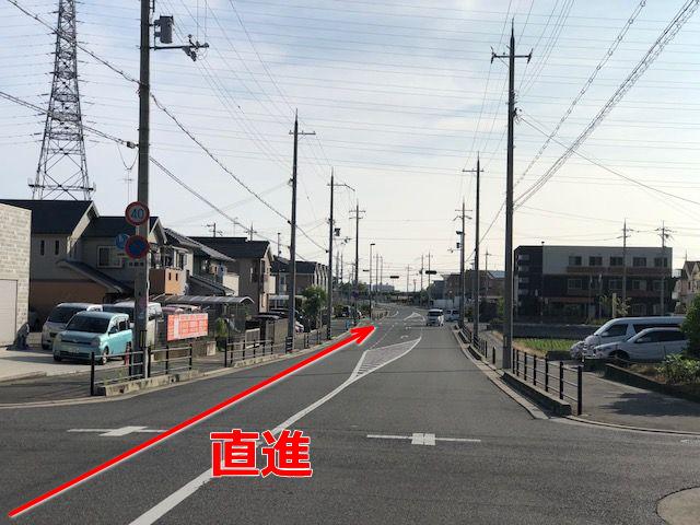 東岸和田方面よりR30号線からの道順6