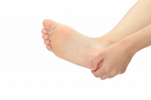 足底筋膜炎図
